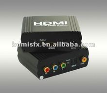 YPbPr to HDMI Converter,YUV/YPbPr/YCbCRr+SPDIF(Optical+Coax)input signal,One HDMI output