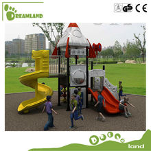 Low price used plastic spiral slide playground slide for sale