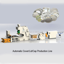 Automatic End Lid/Bottom Making Machine Production Line tocanned tomato production line