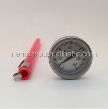 2015 Promotion BBQ thermometer probe thermometer of 304 stainless steel