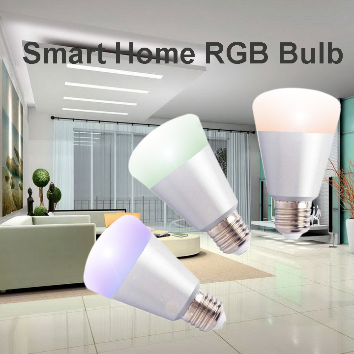 Home automation lighting system zigbee smart RGB bulb
