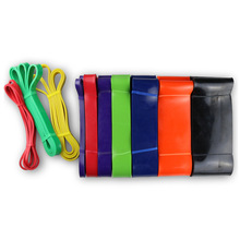 Factory wholesale resistance bands crossfit resistance band colorful latex loop stretch band for exercise