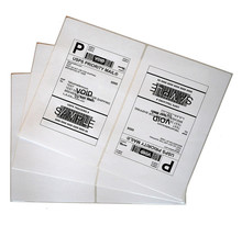 Shipping labels paypal,amazon,2 labels per sheet,inkjet label