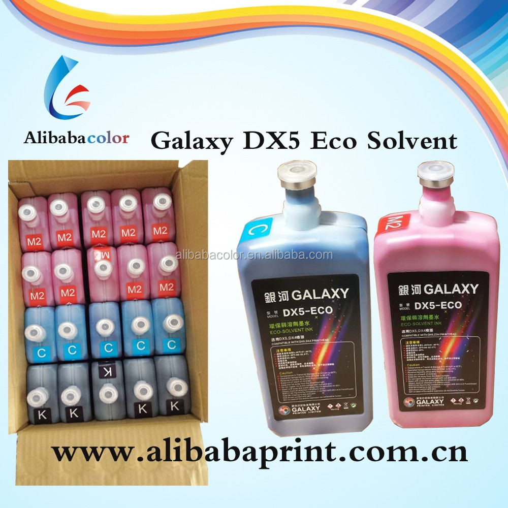 tinta galaxy for dx5 head eco solvente impresora