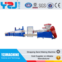 Water cooling PET factory supply good price strapping band extrusion machine on sale