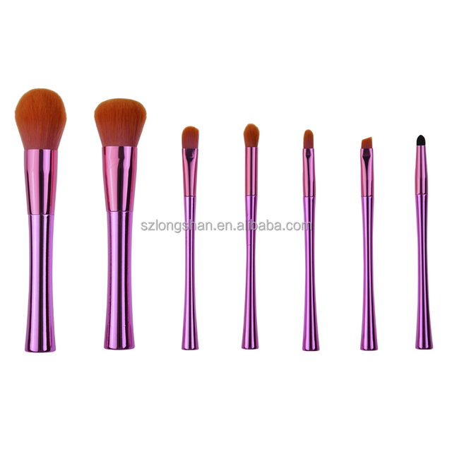 Pinkish purple upscale makeup brush cleaner,wholesale makeup kit