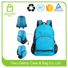 Nylon Material and Day Backpack Use foldable sport bag