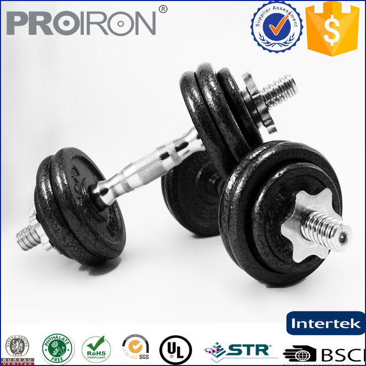 crossfit equipment strength training 15 kg weight dumbbell set for sale
