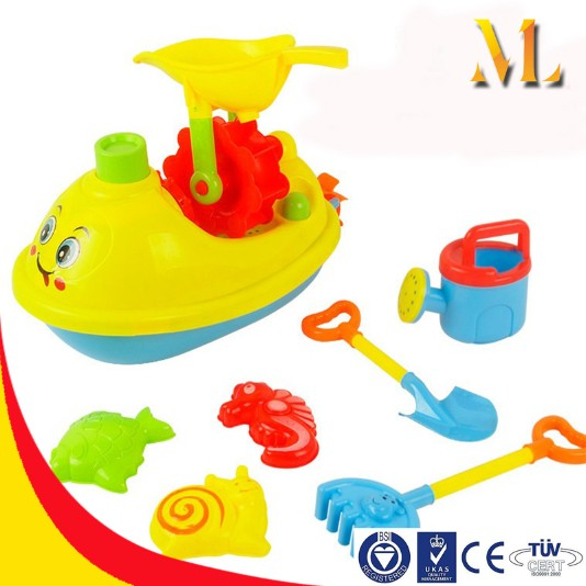 beach boat toys play sand toys beach shovel watering pot summer toys
