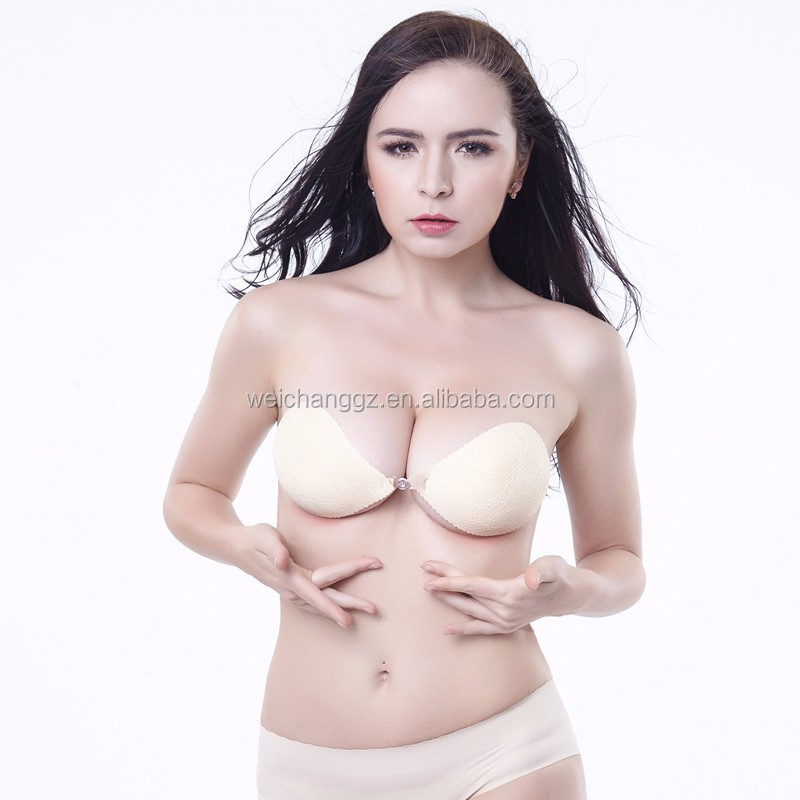 guangzhou the bra sexy bras invisible adhesive strapless silicone bras