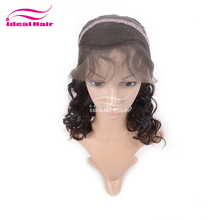 Wholesale high quality natural 100% virgin human small head wig, raw wig cap hairstyles