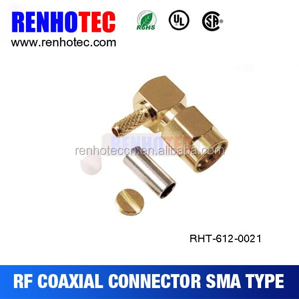 bulkhead electrical sma connector