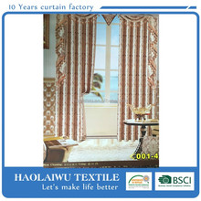 Top design high quality jacquard blackout curtain desings /window curtain/ fabric curtain