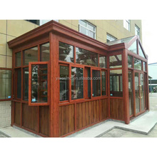 Top Quality Simlple Design Aluminum Alloy Tempered Glass Sun Room
