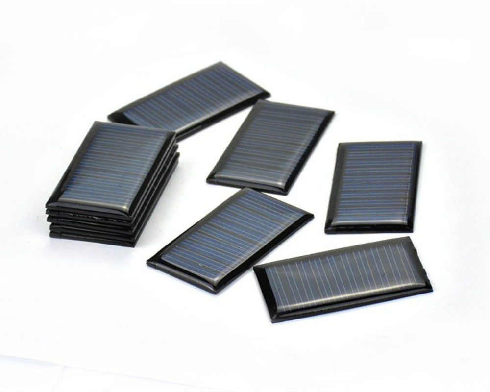 PET Encapsulated Mini Solar Panel with Smooth or Frosted Surface