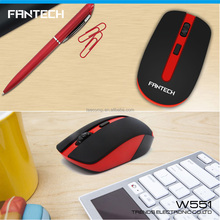 Fantech promotion gift cordless mouse 2.4Ghz beetle shape wireless car optical computer mouse