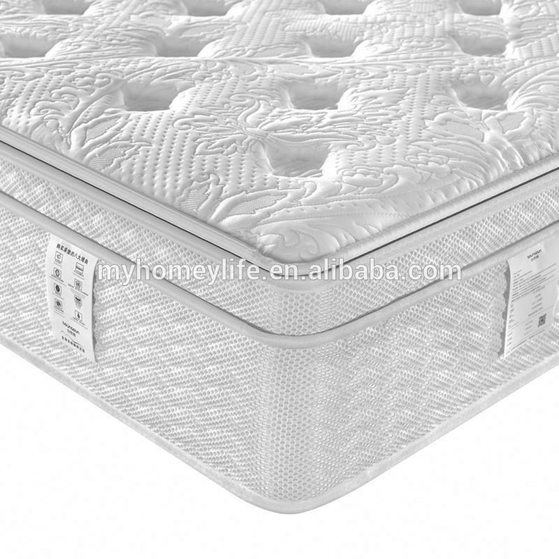 100% Natural Latex Pocket Spring Mattress 3D material mattress with removable zipper cover french mattress - Jozy Mattress | Jozy.net