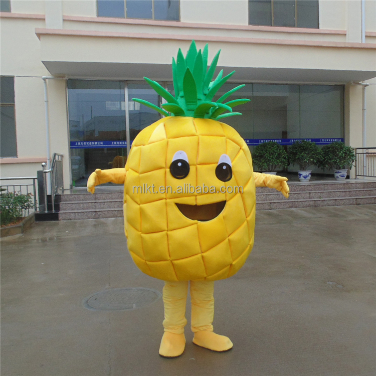 China OEM factory produced pineapple costume mascot
