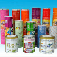 Alibaba fruit jelly packaging roll film/biscuit packing film with SGS certificate factory price