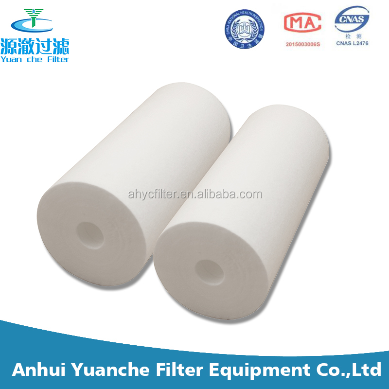 10inch 20inch Large diameter PP yarn /cotton string wound filter cartridge we call it big fat filter