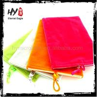 Brand new custom suede jewelry pouch,colour suede jewelry bag with logo,jewely single drawstring pouch