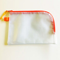 pvc document bag with zip