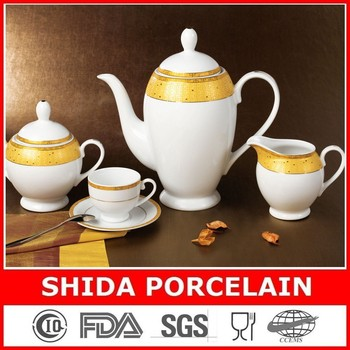 29PCS PORCELAIN COFFEE SET EUROPEAN STYLE TEA SET COFFEE SET SDG3028
