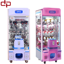 2017 most popular product crane claw machine kids gift machine coin operated game machine