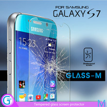 Tempered Glass Mobile Phone Screen Cover for Samsung Galaxy S7