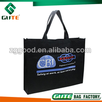 Printed Black Non Woven Bag for Company Promotion