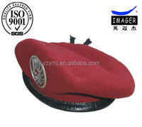 100% Wool Customized Ceremonial Beret Military
