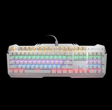 Standard 2018 new hot selling OEM branded 7 colours backlit wired aluminum mechanical midi keyboard with customized multi layout