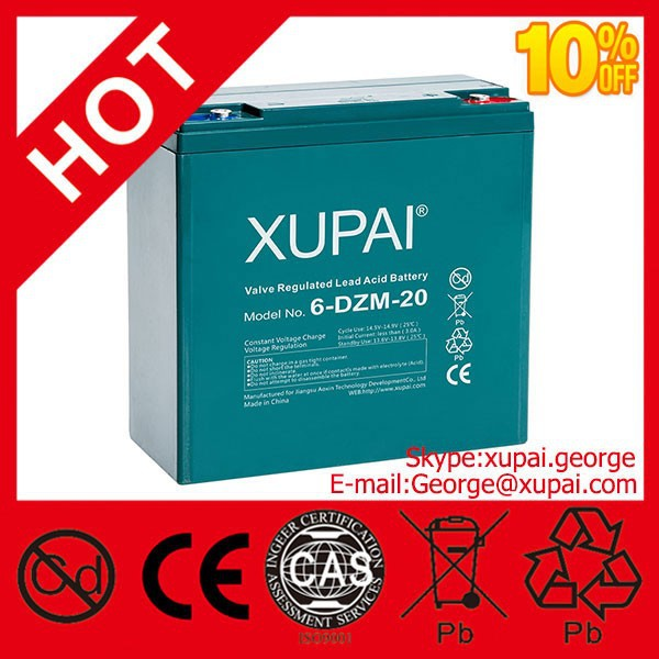 12v 20ah Batteries electric scooter for USA Made in China