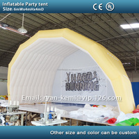 6mWx4mHx4mD Inflatable party tent inflatable tent for outdoor events inflatable marquee with custom logo