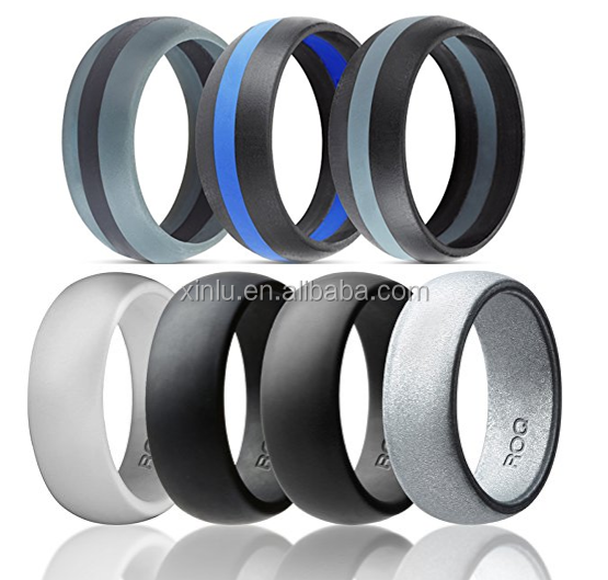 Perfect and soft silicone ring wedding band