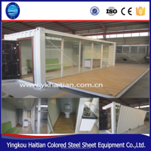 Personalized prefab container house for living and office Mobile kitchen container modular prefabricated homes