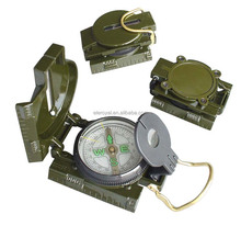 Professional Waterproof Optical Lensatic Sighting Military Compass with Pouch