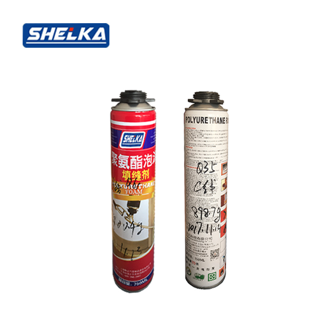 Quality Construction Adhesive PU Foam Adhesive for pipe insulation