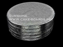 Samll order for sales Silver Foil covered Cake boards