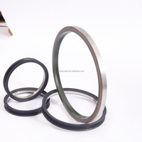 single lip/ double lips ptfe stainless steel oil seal for bearings pumps seal