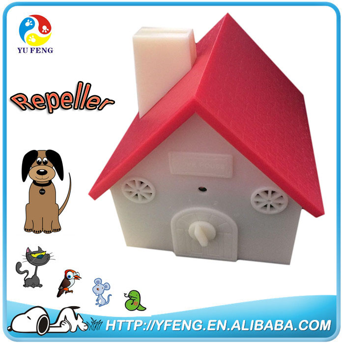 Outdoor use anti bark unit for repeller dogs