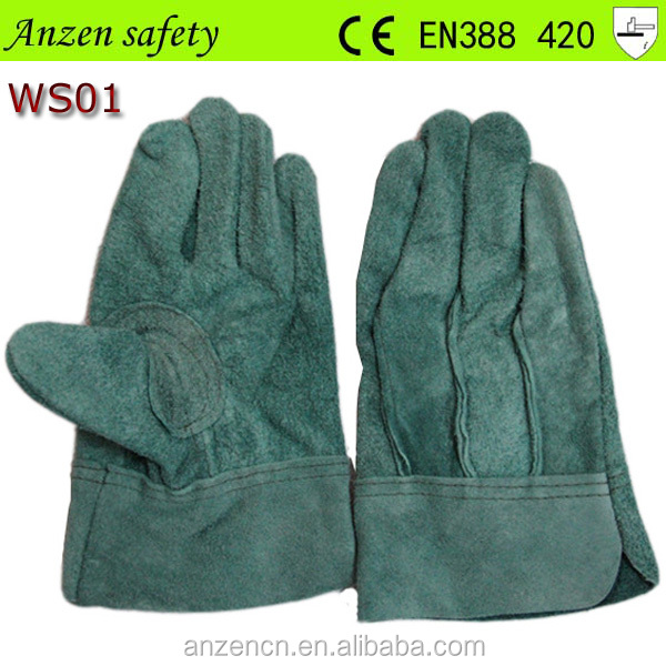 women fur lined short size Janpan leather glove