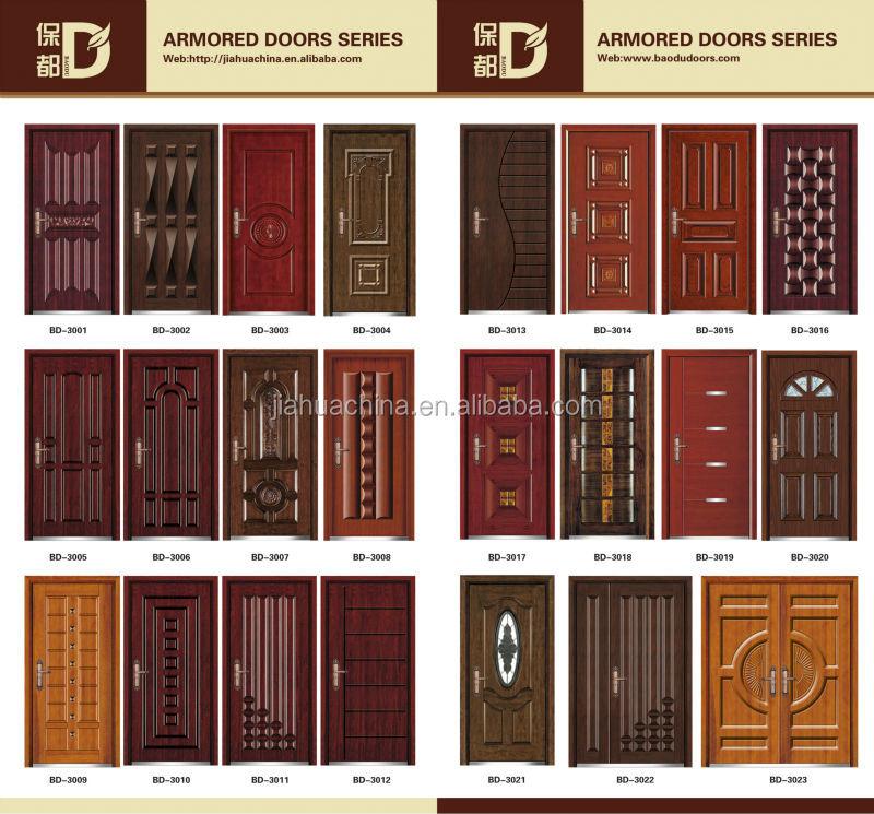 Security Steel Door Exterior House Front Gates Design Almirah Sliding Door Do