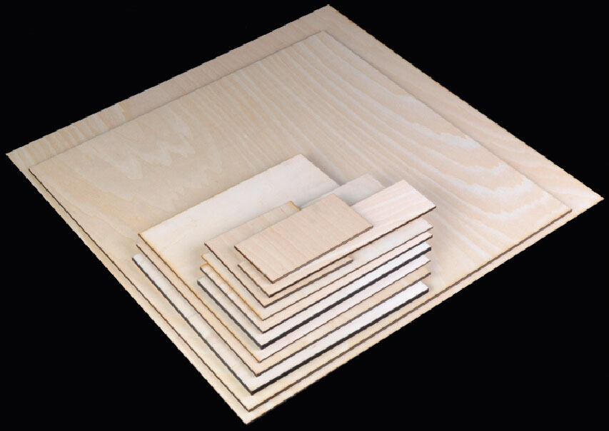 Basswood plywood/layers commercial plywood