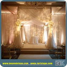 outdoor wedding ceiling drapery event decoration