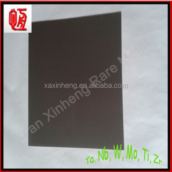 China best price ASTM B 708 Tantalum plate/Tantalum sheet