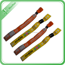Personalized Fabric Wristband, Personal Slap Band, Polyester Custom Wristband