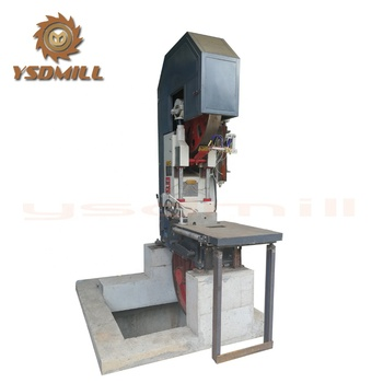 MJ3210 woodcutting vertical band saw machinery with log carriage on sale