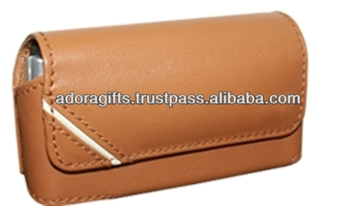 wholesale mobile phone case / latest promotional mobile phone pouch / genuine leather pouch bags for mobile phone