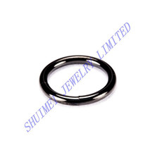 Black Titanium Plated Hoop Segment Ring 316LSteel Nose Stud Ring Lip Labret Ear Tragus Earring Piercing Body Jewelry New